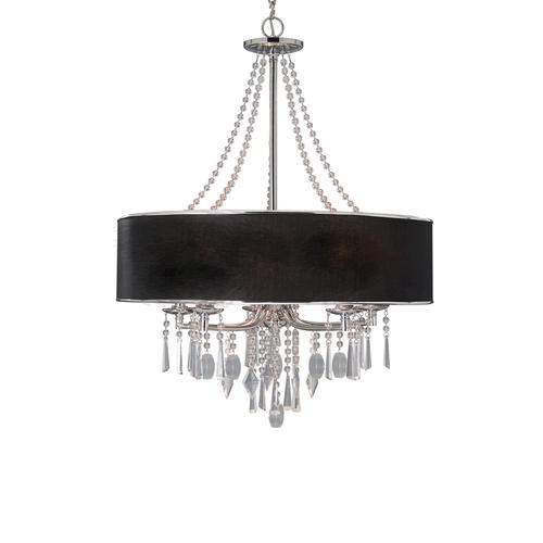 Patriot Lighting Edith 27 5 Chrome 5 Light Chandelier At Menards