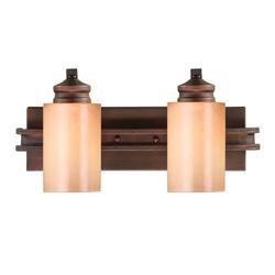 """Patriot Lighting® Roswell 17.75"""" Sovereign Bronze 2-Light Vanity"""