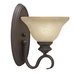 "Patriot Lighting® Barrington 7.5"" Rubbed Bronze 1-Light Wall Sconce"