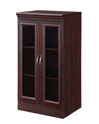 Whalen® Glass Door Cabinet-Cherry
