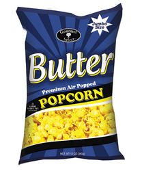 Gourmet Select Butter Premium Air Popped Popcorn - 12 oz.