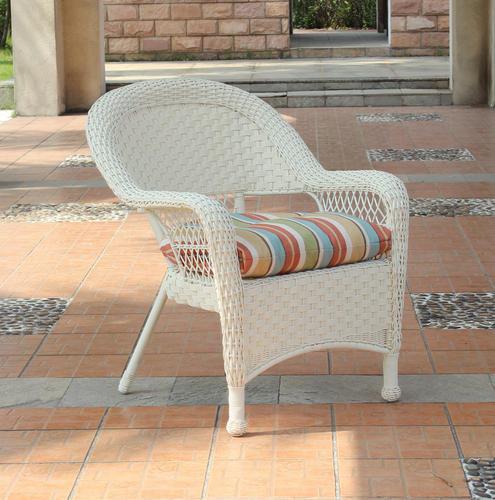 Backyard Creations® Cape Cod Wicker Chair at Menards®