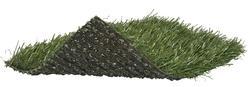 Grass Tex Spring Garden Fringe Indoor/Outdoor Carpet-Pet friendly 15ft Wide