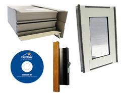 EasyRoom™ Sunroom Component Sample Kit