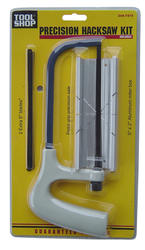 Tool Shop® Precision Hacksaw Kit