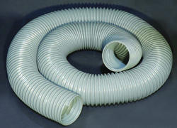 10' Gray Dust Collection Hose