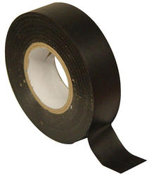 "1"" x 60' Black PVC Electrical Tape"