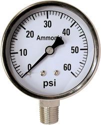 60 PSI Ammonia Pressure Gauge