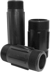 "3"" MPT x 6"" MPT Polypropylene Pipe Fitting - Nipple"