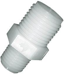 """1/8"""" MPT x 11/16"""" Nylon UN Nozzle Fitting - Male Adapter"""