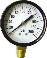 Standard Pressure Gauge (200 PSI)