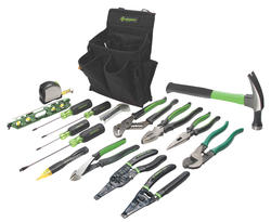 Greenlee 17-Piece Journeyman's Tool Kit