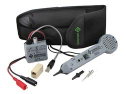 Greenlee Standard Tone and Probe Kit with Alligator Clips