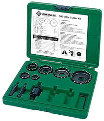 Greenlee Ultra Cutter Kit for Various Materials