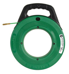 "Greenlee 11/64"" x 100' Fiberglass Fish Tape"