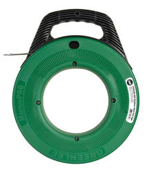 """Greenlee 1/8"""" x 200' Stainless Steel Fish Tape"""