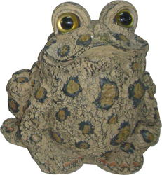 "8"" Tall Toad Garden Decor Figurine-Brown"