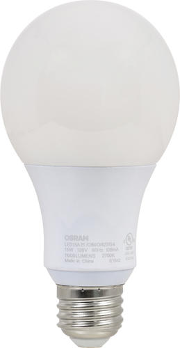 sylvania 100 watt a19 2700k led light bulb at menards. Black Bedroom Furniture Sets. Home Design Ideas
