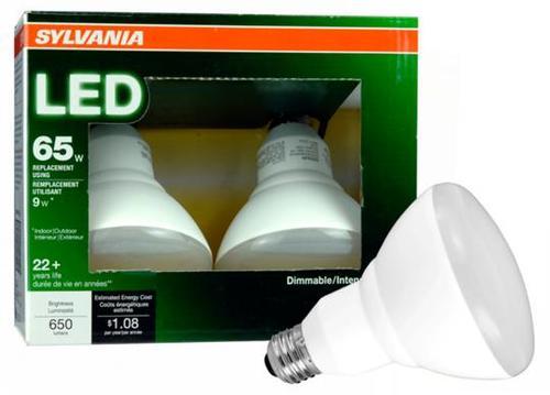 Sylvania 65 Watt Br30 Soft White Dimmable Led Flood Light