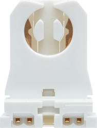 Sylvania Medium Bi-Pin Low-Profile Fluorescent Lampholders (2-Pack)