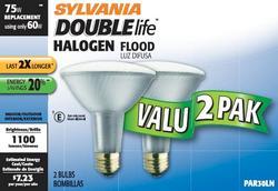 Sylvania 60-Watt PAR30LN Dimmable Halogen Light Bulbs (2-Pack)