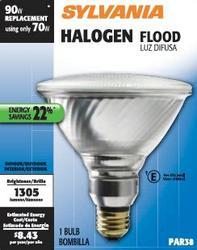 Sylvania 70-Watt PAR38 Dimmable Halogen Light Bulb