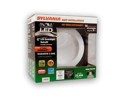 "Sylvania 9-Watt 600 lumens 4"" LED Downlight Retrofit Kit"