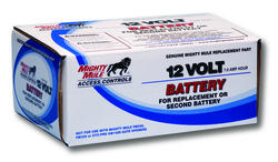 Mighty Mule Replacement Battery for GTO/Mighty Mule Automatic Gate Openers