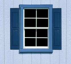 Handy Home Small Square Window Shutters