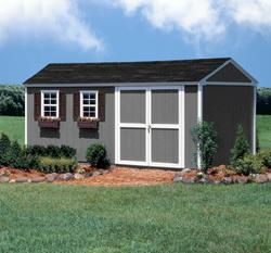 Amhurst 10' x 18' Storage Building with Floor by Shedmaster