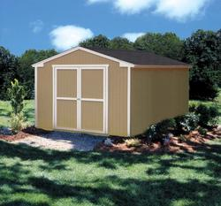 Plymouth 10' x 16' Storage Building with Floor by Shedmaster