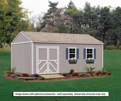 Handy Home Columbia 12' x 12' Storage Building - Kit Only