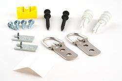 Heavy Duty D-Ring Hanging Kit 100lbs.