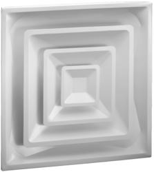 "Ameriflow 24"" x 24"" Lay-In Cone Ceiling Diffuser"