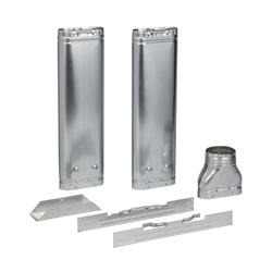 """AmeriVent 4"""" Oval Vent Kit (Contains 2-4024, 1-40E, 1-40 Hd and 1-40Ps)"""