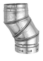 "AmeriVent 4"" Class B 90-Degree Elbow"