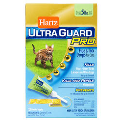 Hartz® UltraGuard Pro® Flea and Tick Drops for Cats