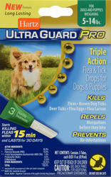 Hartz® UltraGuard Pro® Flea and Tick Treatment for Dogs and Puppies from 5 - 14 lb.