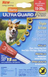 Hartz® UltraGuard Pro® Flea and Tick Treatment for Dogs and Puppies from 15 - 30 lb.