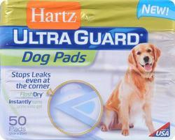 Hartz® Ultra Guard® Dog Pads - 50 ct.