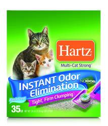 Hartz® Multi-Cat Clumping Cat Litter - 35 lb.
