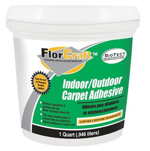 FlorCraft® Indoor/Outdoor Carpet Adhesive - 1 qt. at Menards®