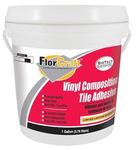 Florcraft 174 Vinyl Composition Tile Adhesive 1 Gal At