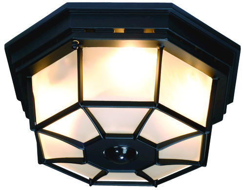 heath zenith black octagonal 360 degree decorative ceiling. Black Bedroom Furniture Sets. Home Design Ideas
