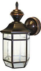 Heath/Zenith Antique Copper Lexington 150-Degree Decorative Motion Detector