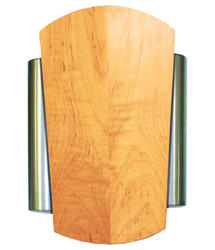 Heath/Zenith Solid Maple Natural Finish Wired Door Chime