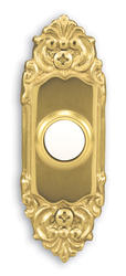 Heath/Zenith Polished Brass Finish Wired Door Chime Push Button