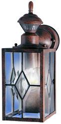 Heath/Zenith Rustic Brown Mission 150-Degree Decorative Motion Detector