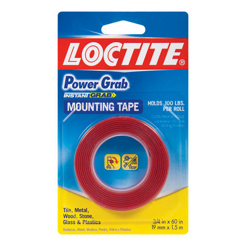 Loctite Power Grab Double Sided Mounting Tape At Menards 174