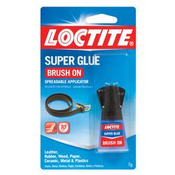 Loctite Liquid Super Glue with Brush-On Applicator - 0.17 oz